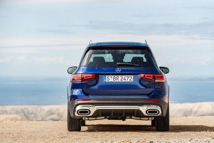 Mercedes Glb 2020 Azul 18