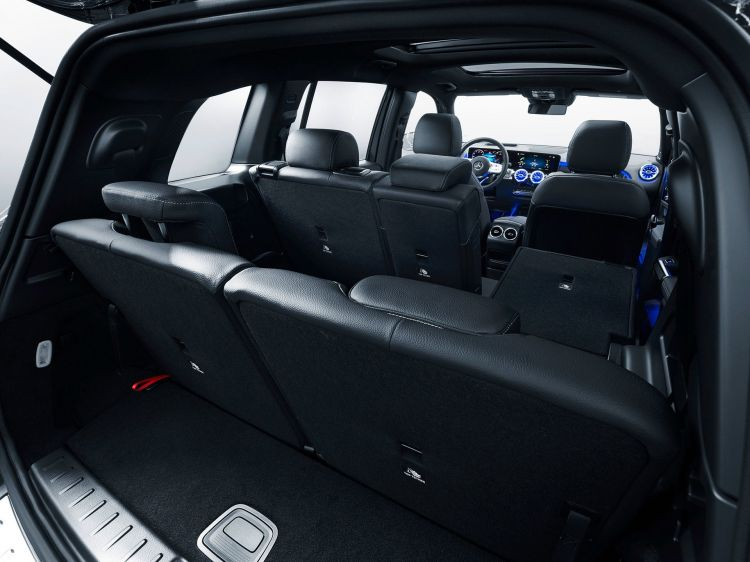 Mercedes Glb 2020 Azul 42