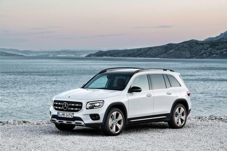 Mercedes Glb 2020 Blanco 06