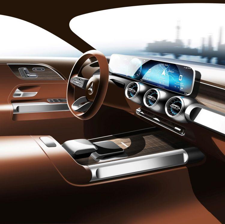 Mercedes Glb Prototipo Interior