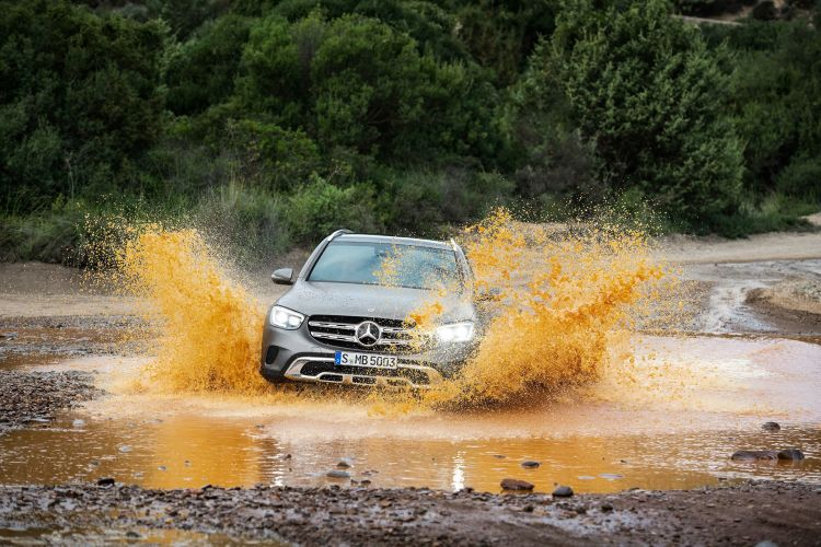 Mercedes Glc 2019 Gris 08
