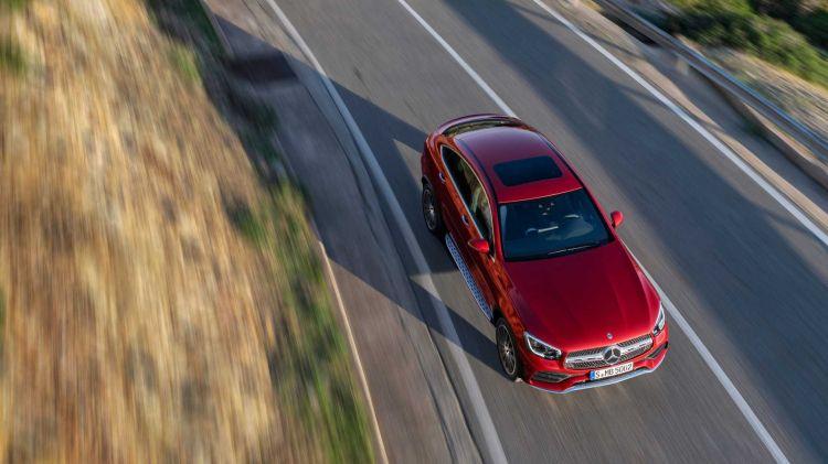 Mercedes Glc Coupe 2019 Rojo 020