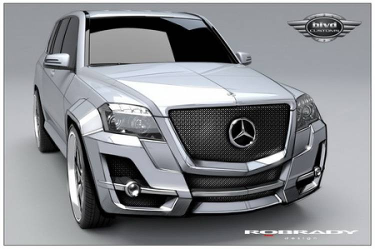 Mercedes GLK por Boulevard Customs