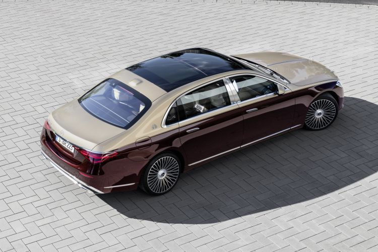 Mercedes Maybach Clase S 2021 14