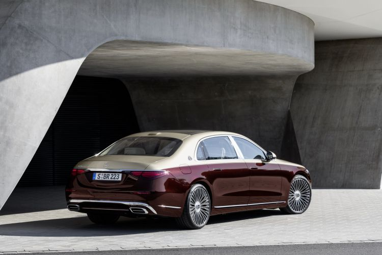 Mercedes Maybach Clase S 2021 15