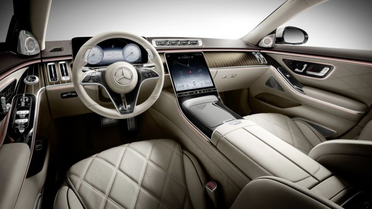 Mercedes Maybach Clase S 2021 52