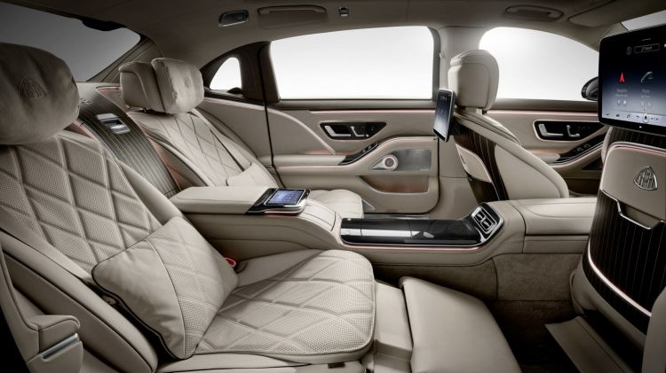 Mercedes Maybach Clase S 2021 54