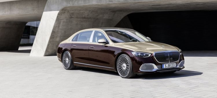 Mercedes Maybach Clase S 2021 P