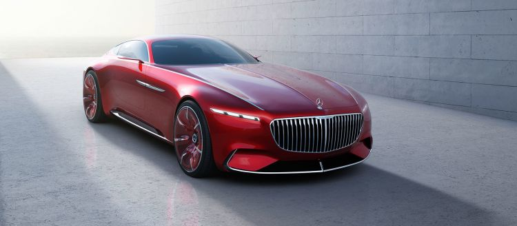 Mercedes Maybach Vision 6 Coupe 01