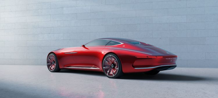 Mercedes Maybach Vision 6 Coupe 02