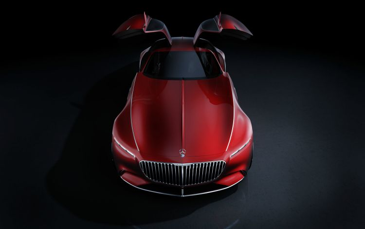 Mercedes Maybach Vision 6 Coupe 04