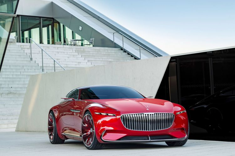 Mercedes Maybach Vision 6 Coupe 28
