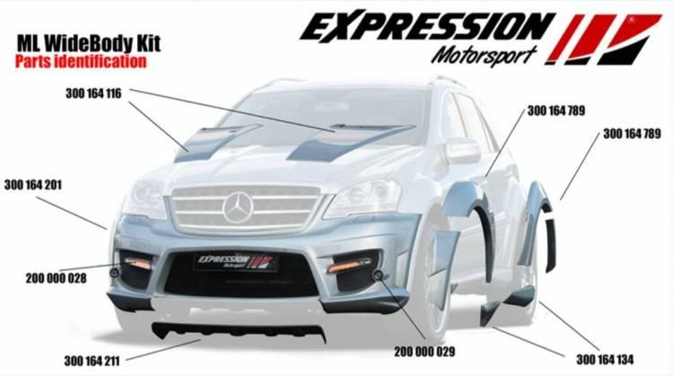 Mercedes ML 63 AMG por Expression Motorsport