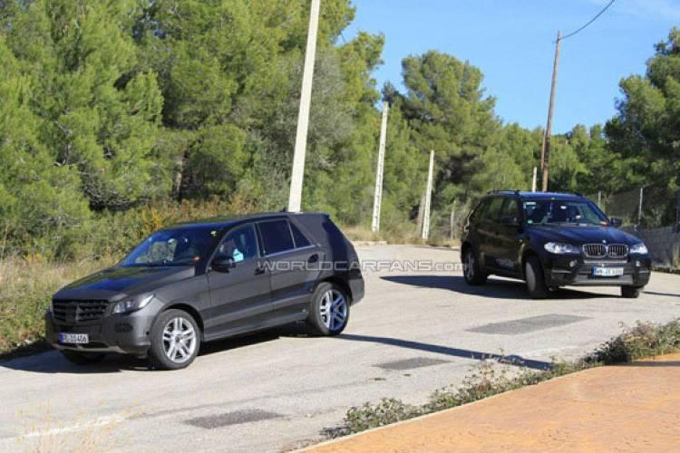 Mercedes ML 2011 espiado