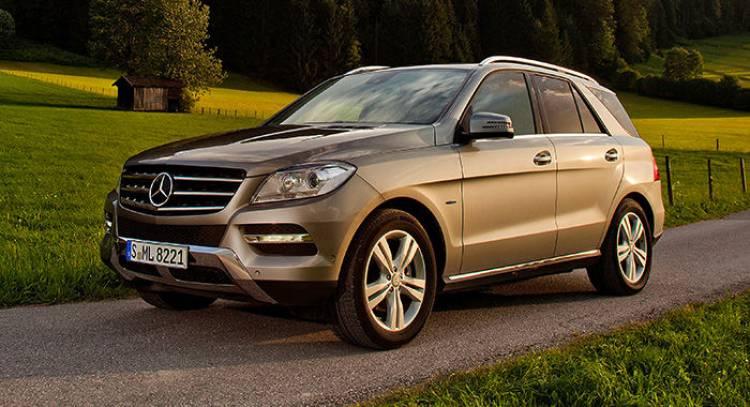 Mercedes ML500 4MATIC BlueEFFICIENCY