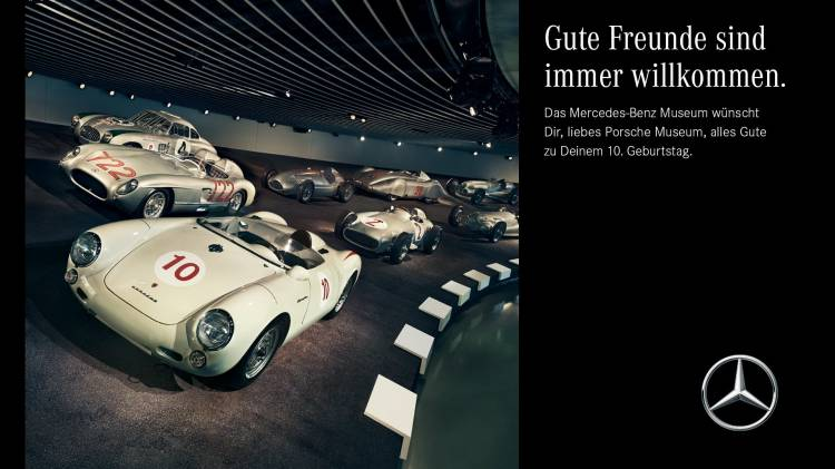 Mercedes Museo Porsche 550 2