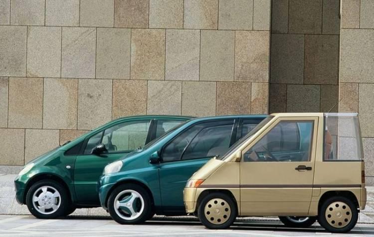 Prototipo clásico: Mercedes NAFA Concept, el antecesor de los Clase A y el smart