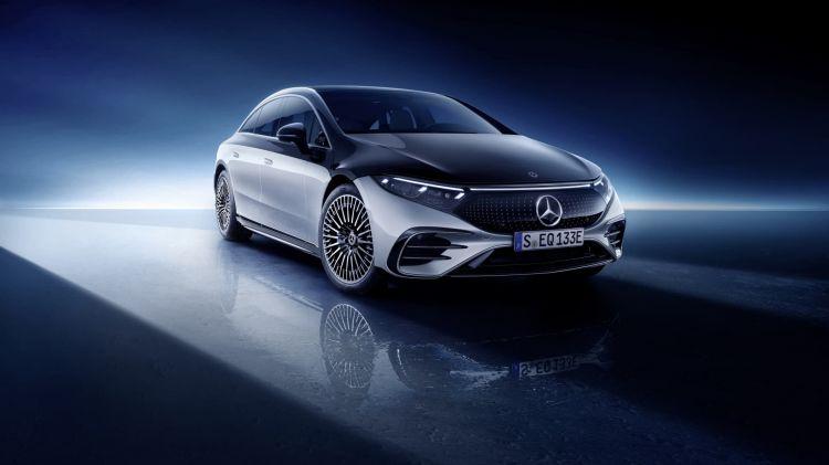 Mercedes Eq, Eqs, V 297, 2021