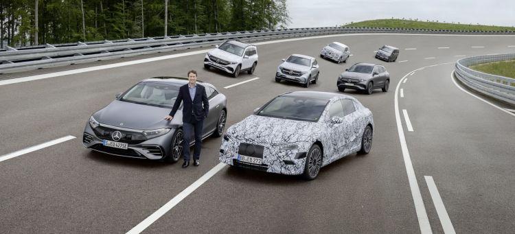 Mercedes Plan Electricos 2030 Gama Eq Portada