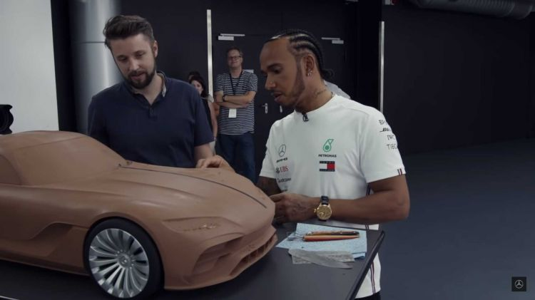 Mercedes Prototipo Amg Gt 2020 2