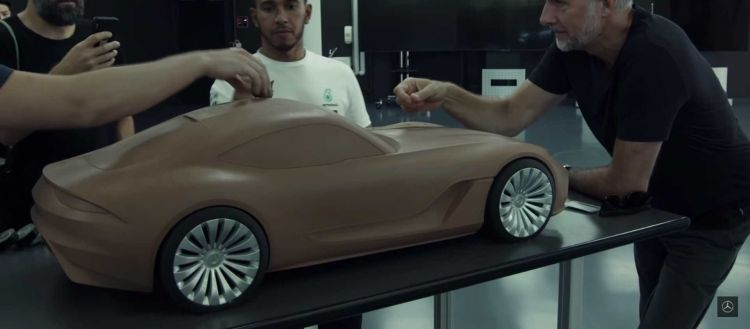 Mercedes Prototipo Amg Gt 2020 P