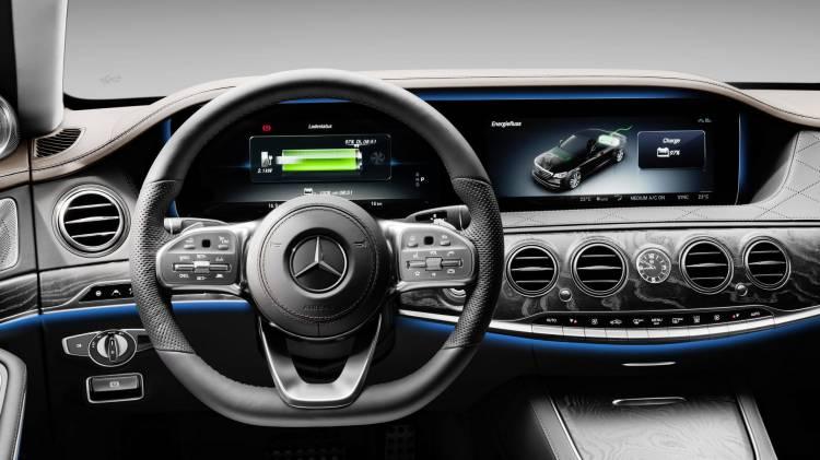 Eq Power: Neuer Plug In Hybrid Mercedes Benz S 560 E: Mehr Leistung, Mehr Reichweite