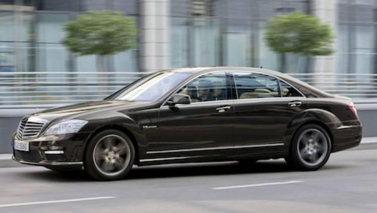 Mercedes S 63 AMG con motor V8 5.5 Biturbo