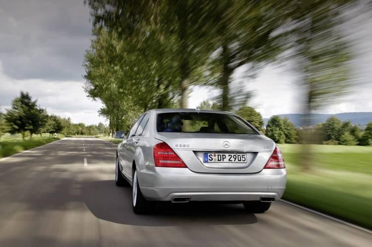 Mercedes S 250 CDI BlueEFFICIENCY, sólo 5.7 l/100 km