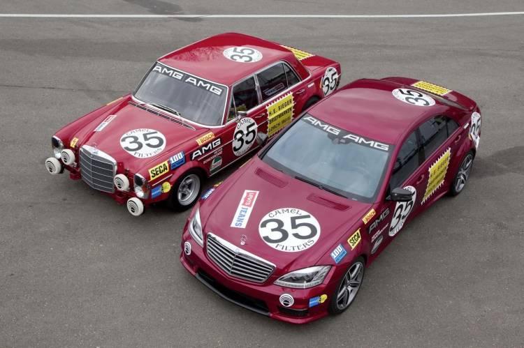 "El Mercedes S 63 AMG ""Thirty-Five"" palidece frente al 300 SEL 6.8 AMG"