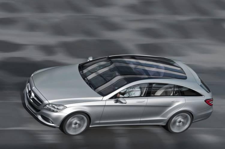 Mercedes Shooting Break Concept, anticipando un CLS elegante