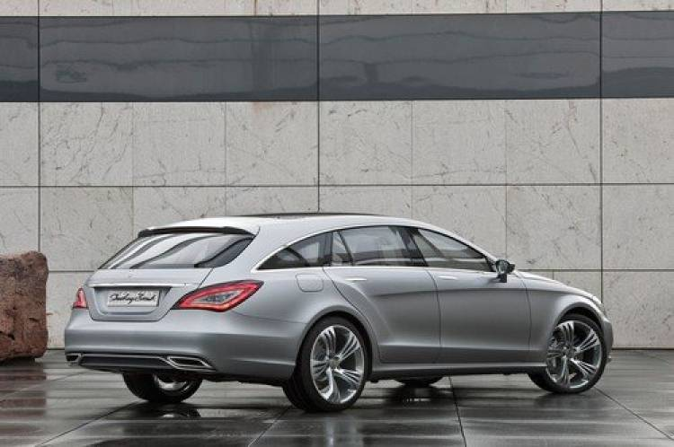 Mercedes Shooting Break Concept, anticipando un CLS elegante