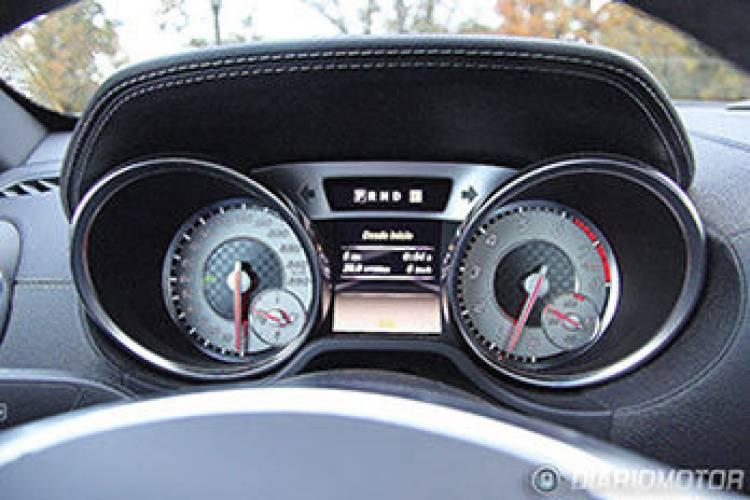 Mercedes SL 500, mini prueba
