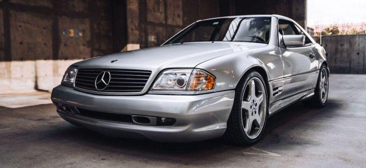 Mercedes Sl 74 Renntech P