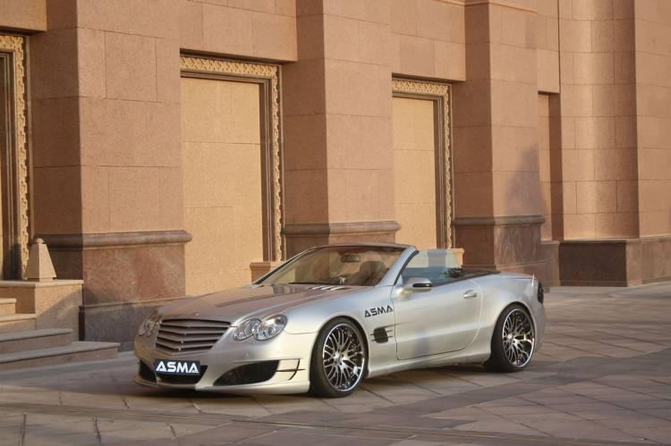 Mercedes SL por ASMA