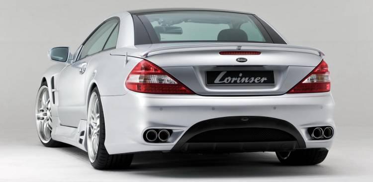 Mercedes SL por Lorinser