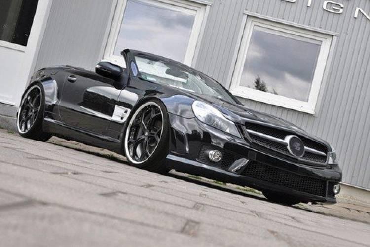 Prior Design PD-Series Mercedes SL Wide Body