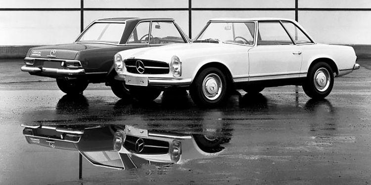 Mercedes Sl W 113