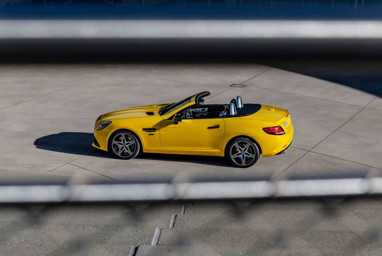 Mercedes Slc 2019 Final Edition Amarillo Exterior Trasera