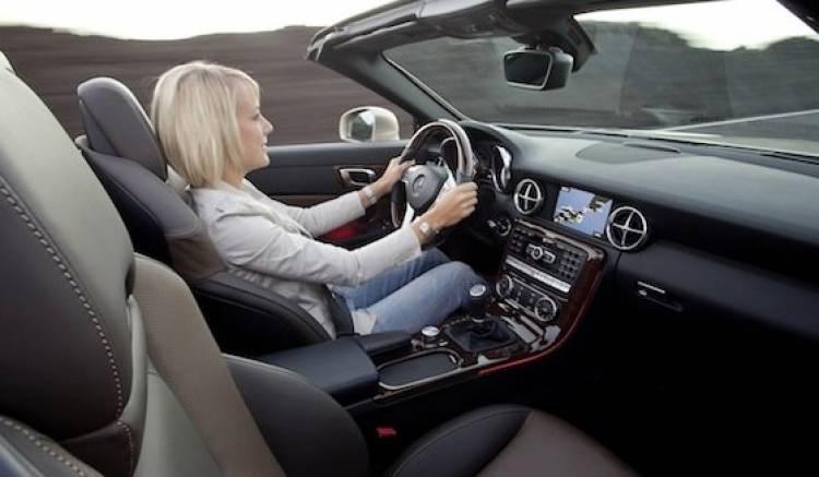 Mercedes SLK Roadster 2012