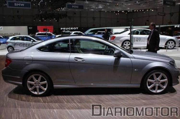 Mercedes SLK y Clase C Coupé, los nuevos aires de la marca alemana en Ginebra