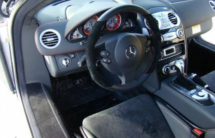 Mercedes SLR Mclaren 722 de Michael Jordan
