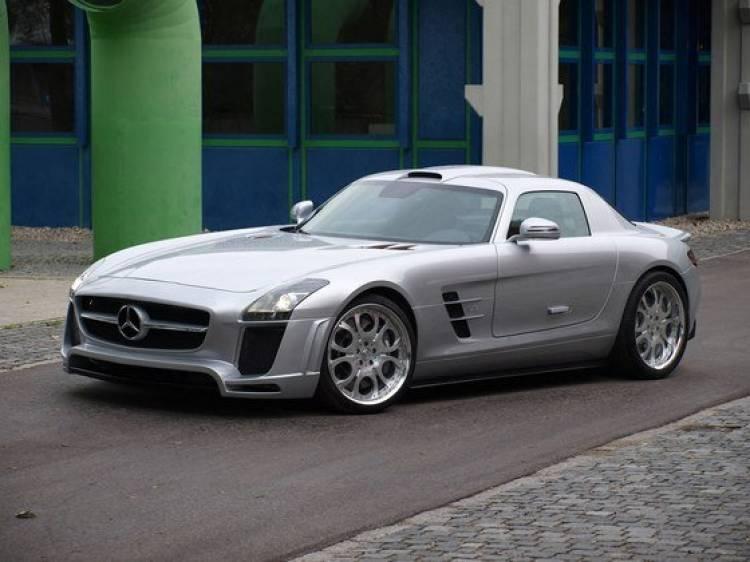 FAB Design altera al nuevo Mercedes SLS AMG