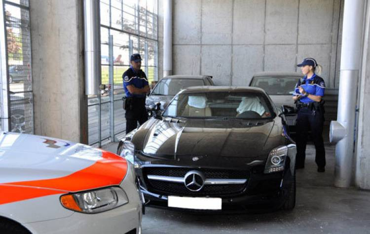 Multa Mercedes SLS AMG