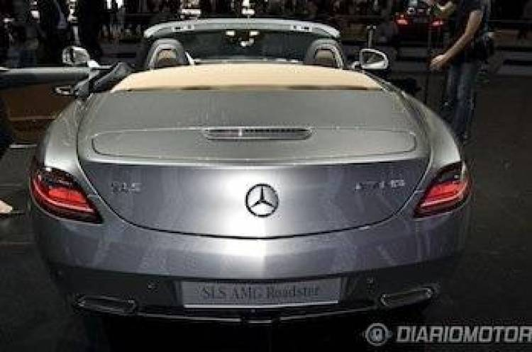 Mercedes SLS AMG Roadster en Frankfurt