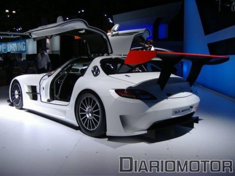 Mercedes SLS AMG GT3 en el Salón de Nueva York