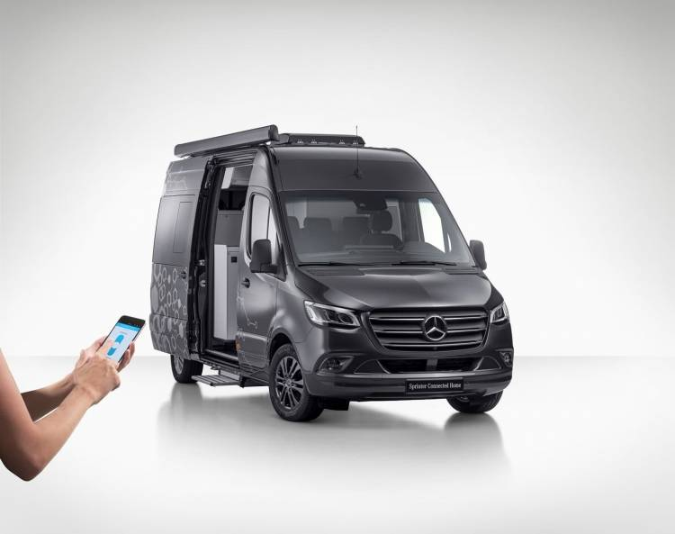 Mercedes Benz Sprinter Connected Home