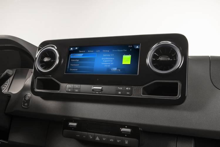 Mercedes Benz Sprinter Connected Home