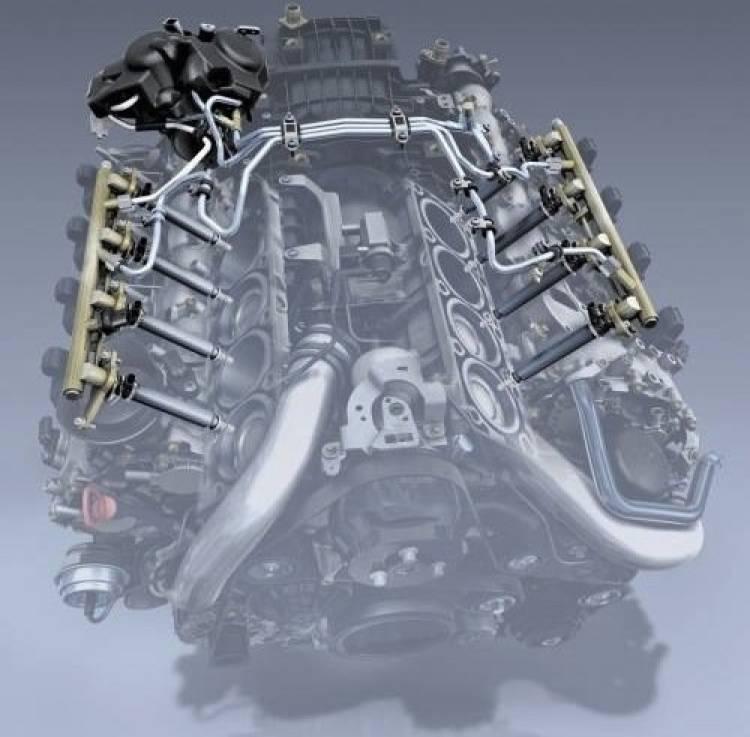 Motor Mercedes 4.6 V8 Biturbo