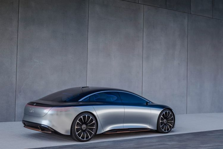 Mercedes Benz Vision Eqs 2019 Mercedes Benz Vision Eqs 2019
