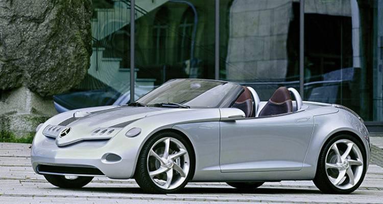 Mercedes Vision SLA